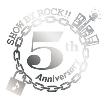 "SHOW BY ROCK!! 5th Anniversary Single ""ENDLESS"". Front. Нажмите, чтобы увеличить."