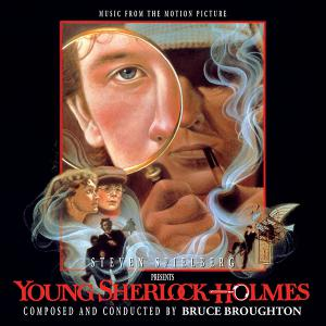 Young Sherlock Holmes Music from the Motion Picture. Лицевая сторона. Нажмите, чтобы увеличить.