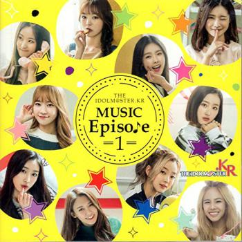 THE IDOLM@STER.KR MUSIC Episo♪e =1= [TypeB], The. Front (small). Нажмите, чтобы увеличить.