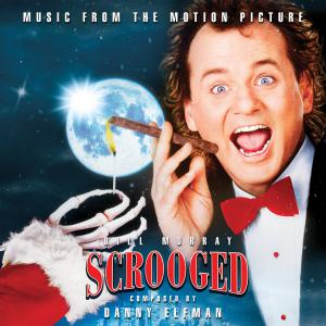 Scrooged Music from the Motion Picture. Лицевая сторона. Нажмите, чтобы увеличить.