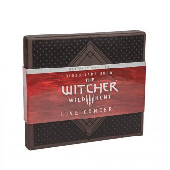 Video Game Show - The Witcher 3: Wild Hunt Concert [Limited Edition]. Front. Нажмите, чтобы увеличить.